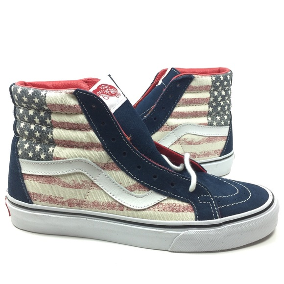 eef6e2729b New Vans Sk8 Hi Reissue Americana Shoes Sneakers 8